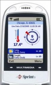 WeatherBug Mobile Sprint