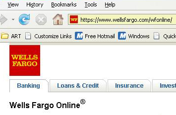 Wells Fargo Screenshot