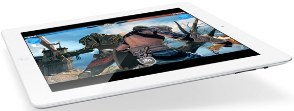 iPad 3 display