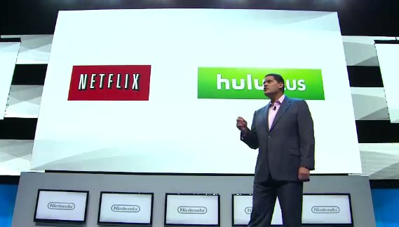 Wii U Netflix, hulu, amazon, youtube