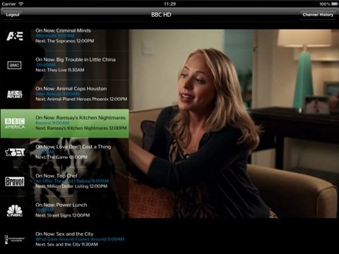 time warner iPad app