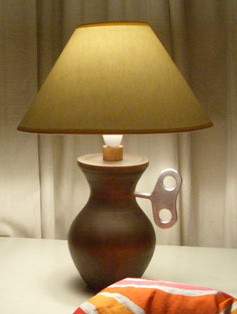 Wind Up Lamp