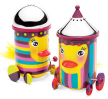 Wind-up Bird Shakers