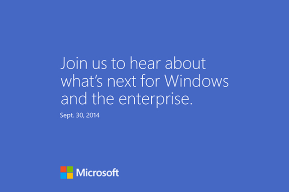 Windows 9 invite