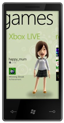 Windows Phone 7 Xbox Live