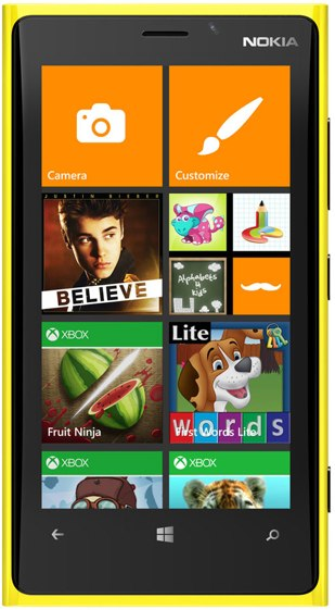 WIndows Phone 8 kids corner