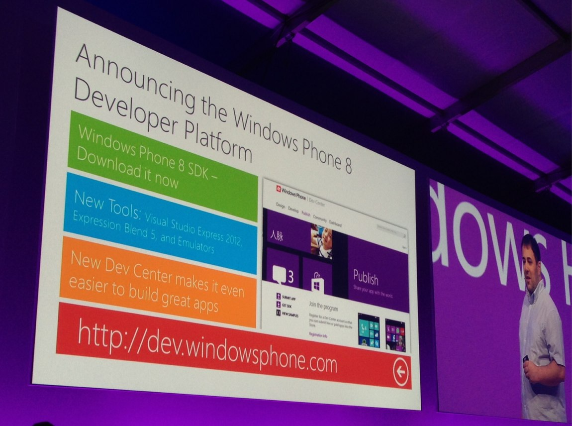 Windows Phone 8 SDK Build 2012