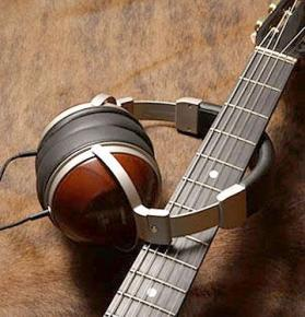 JVC Wooden Headphones