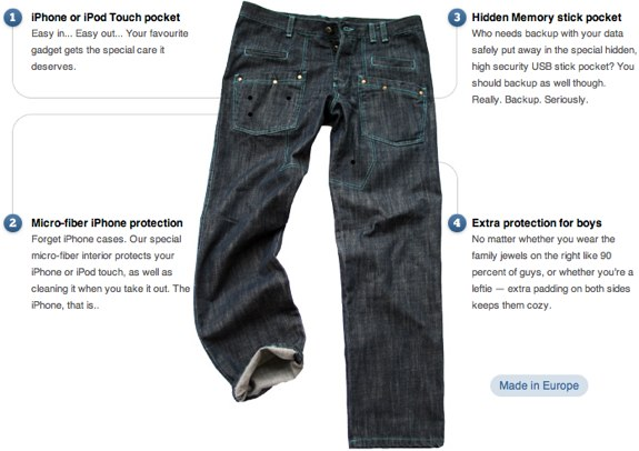 WTFJeans iPhone iPod touch