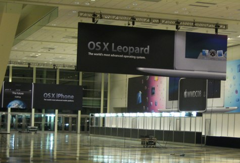 WWDC 2008 OS X Banners