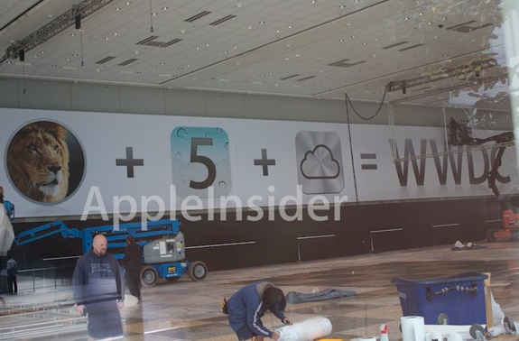 WWDC 2011 banners icloud