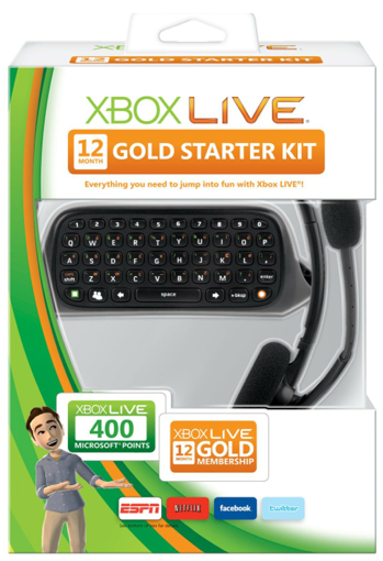 xbox 360 12 month messenger starter kit sale