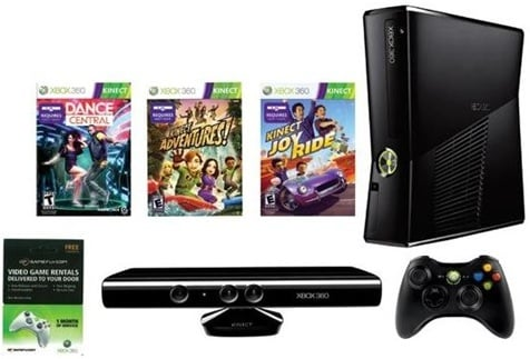 xbox 360 kinect bundle sale