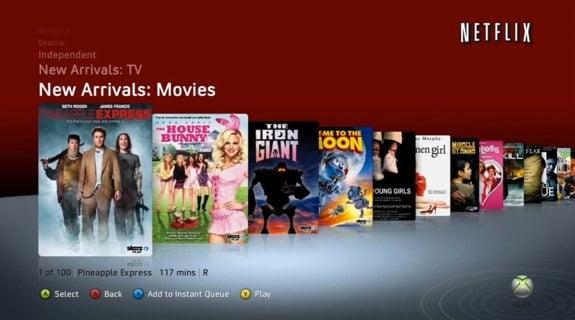 Xbox 360 Netflix Exclusive
