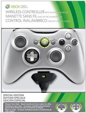 Xbox 360 play and charge special edition