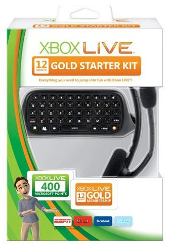 xbox live gold starter kit sale