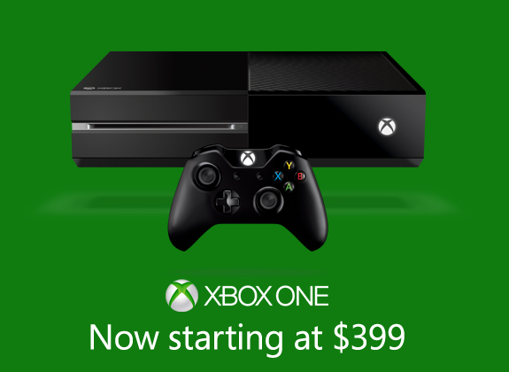 Xbox one without kinect $399