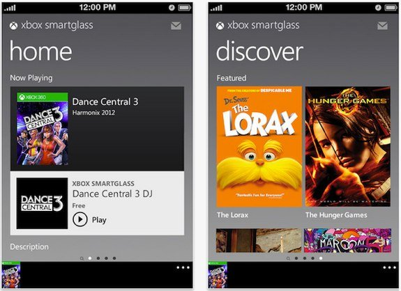 Xbox SmartGlass for iOS