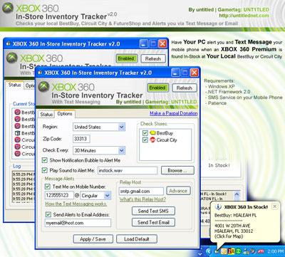 Xbox 360 tracker