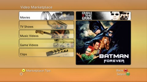 Xbox Video Marketplace