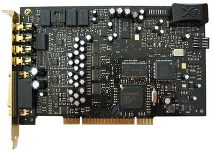 Creative X-Fi Sound Card