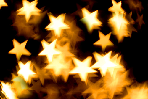Yellow stars from the Creative Aperture Kit