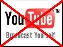 YouTube banned logo