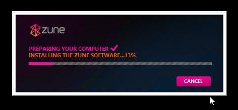 Zune 4.0 install