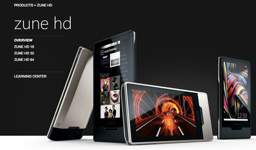 Zune HD clearance sales