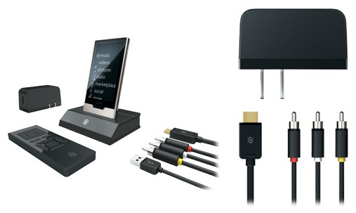 Microsoft's Zune HD AV Dock and Power Pack