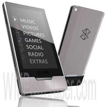Zune HD leak
