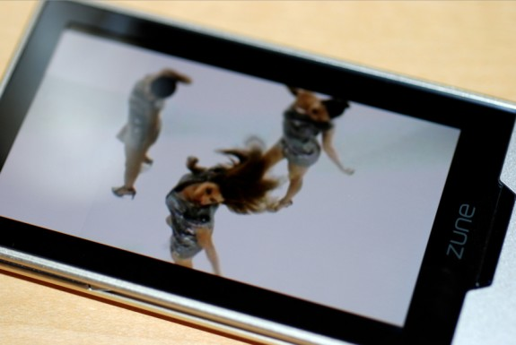 Zune HD Beyonce Video