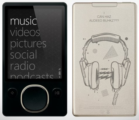 Zune Audible