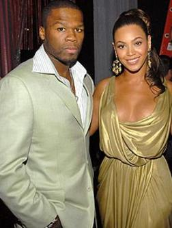 50 Cent and Beyonce