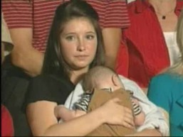 Bristol Palin and baby