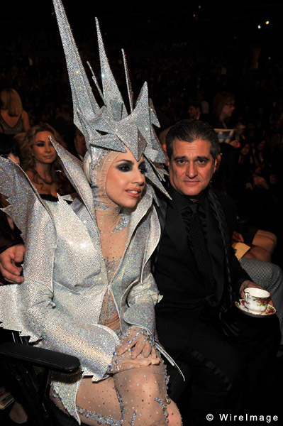 Lady Gaga and her father