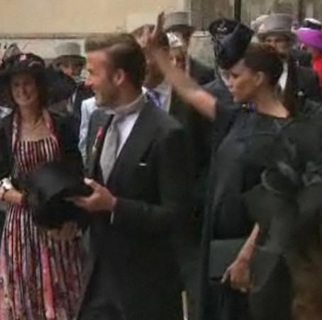 Royal Wedding - Beckhams