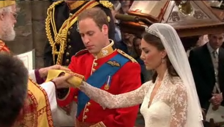 Royal Wedding - Binding
