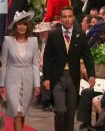 Royal Wedding - Carole Middleton