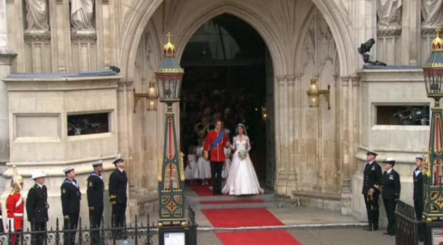 Royal Wedding - End