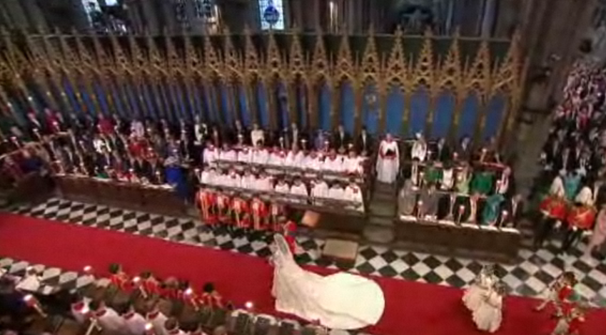 Royal Wedding - End Procession