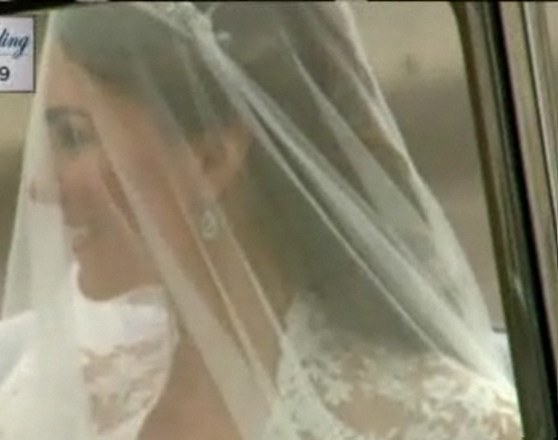 Royal Wedding - Kate Middleton arrives