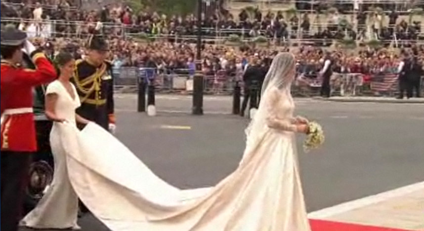 Royal Wedding- Wedding Dress