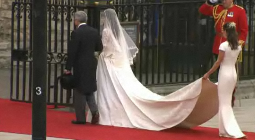 Royal Wedding - Wedding dress