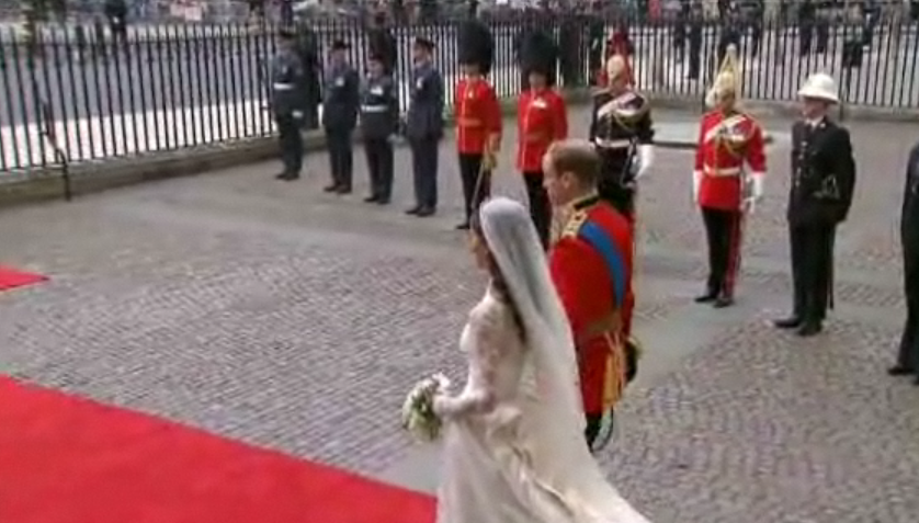 Royal Wedding End