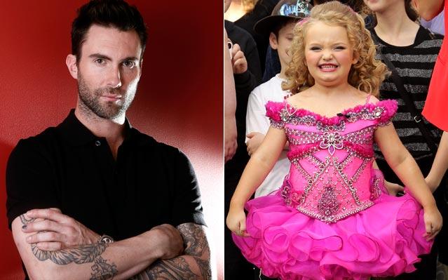 Adam Levine and Honey Boo Boo