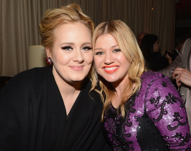 Adele and Kelly Clarkson