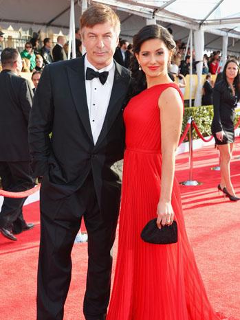 Alec Baldwin and his wife Hilaria Thomas