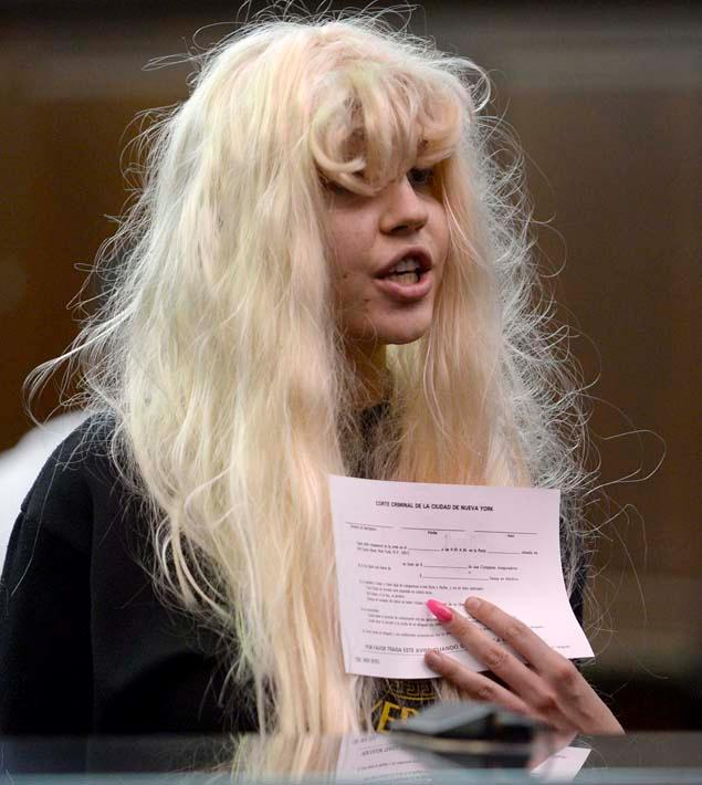 Amanda Bynes in court on Friday