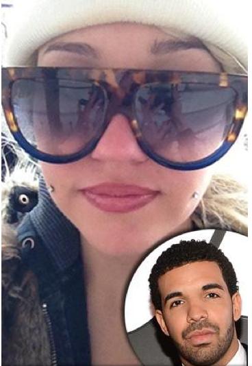 Amanda Bynes with Drake inset